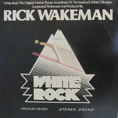 lp rick wakeman white rock ótimo estado