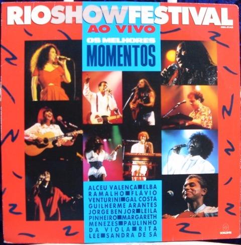 lp rio show festival -ao vivo - os melhores momentos - 1991