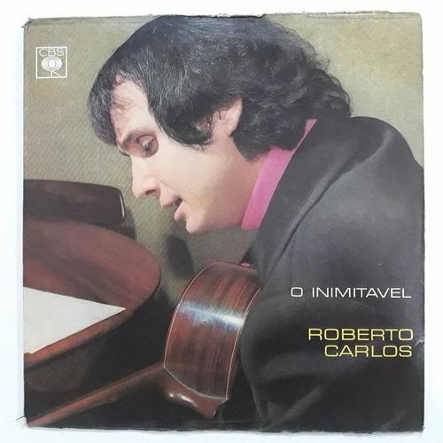 lp roberto carlos 1968 o inimitável mono disco de vinil