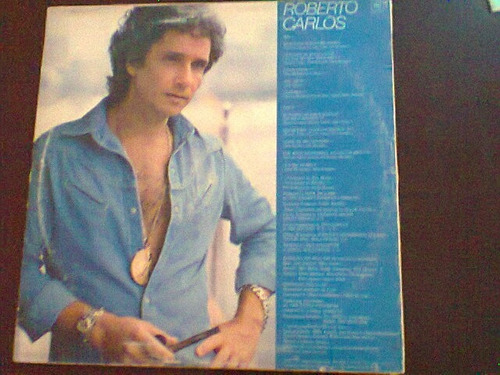 lp roberto carlos - cantando em inglês (1981).