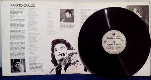 lp roberto carlos colección de platino album x 2 lp 1989