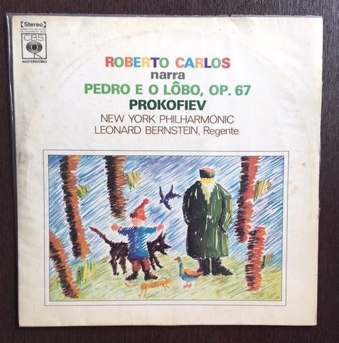 lp roberto carlos - narra pedro e o lobo / op.67 prokofiev