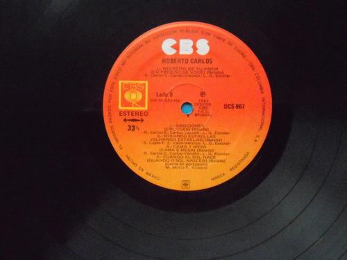 lp roberto carlos p 1981- en español- méxico-disco 01 mg