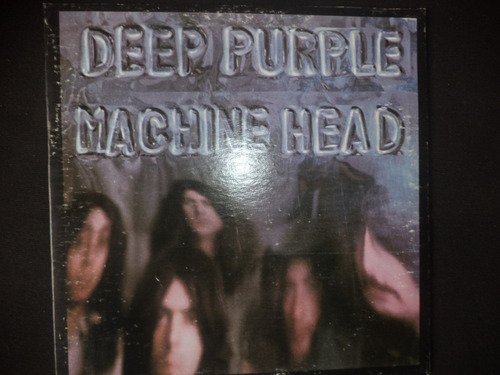 lp rock deep purple - machine head,  rush ambato.
