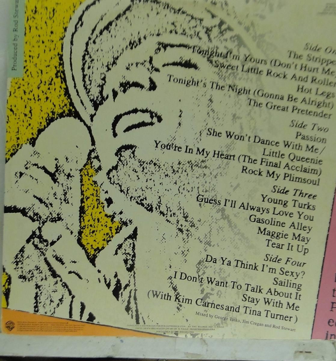 Lp Rod Stewart - Absolutrly Live - Album Duplo - Ad101