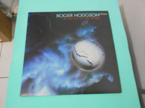 lp - roger hodgson - in the eye of the storm