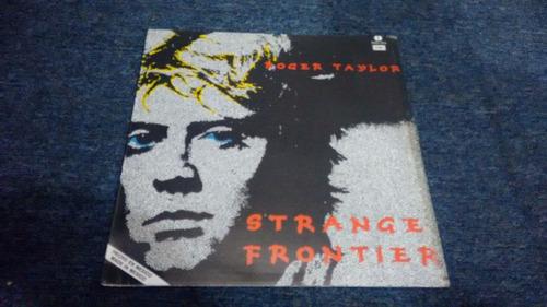 lp roger taylor strange frontier en acetato,long play