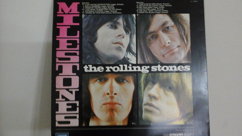 lp- rolling stones - milestones- raro
