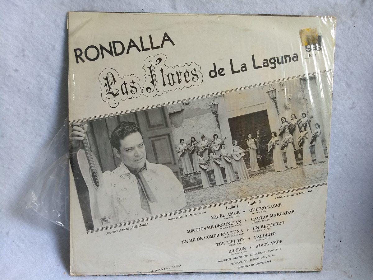 2caadd648 Lp Rondalla Las Flores De La Laguna -   125.00 en Mercado Libre