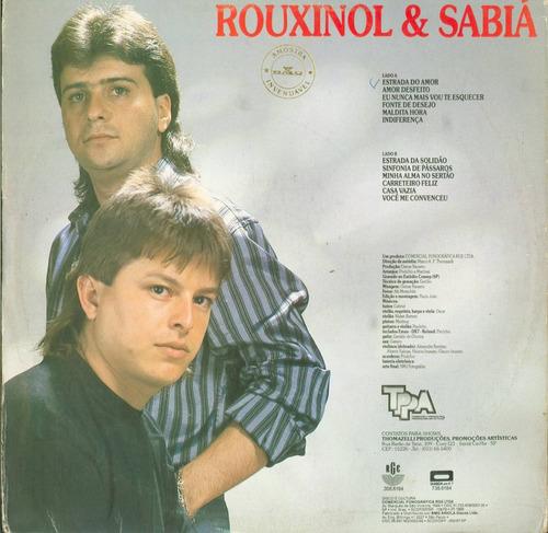 lp rouxinol e sabia - rge 1988