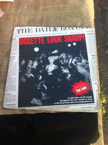 lp roxette look sharp !  1989 com encarte
