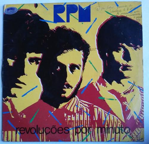 lp rpm revoluções por minuto 1984 c/encarte