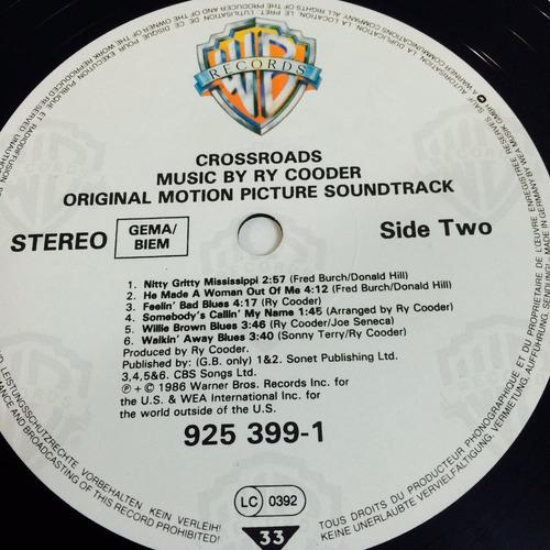 lp ry cooder - crossroads soundtrack importado