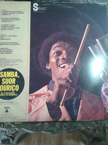 lp - samba, suor e ouriço