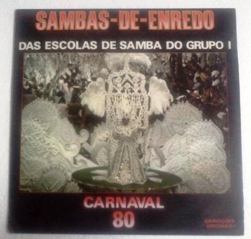 lp sambas de enredo carnaval 80 grupo 1 toptape 1979