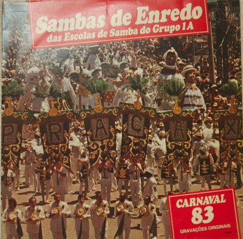 lp sambas de enredo - carnaval 83