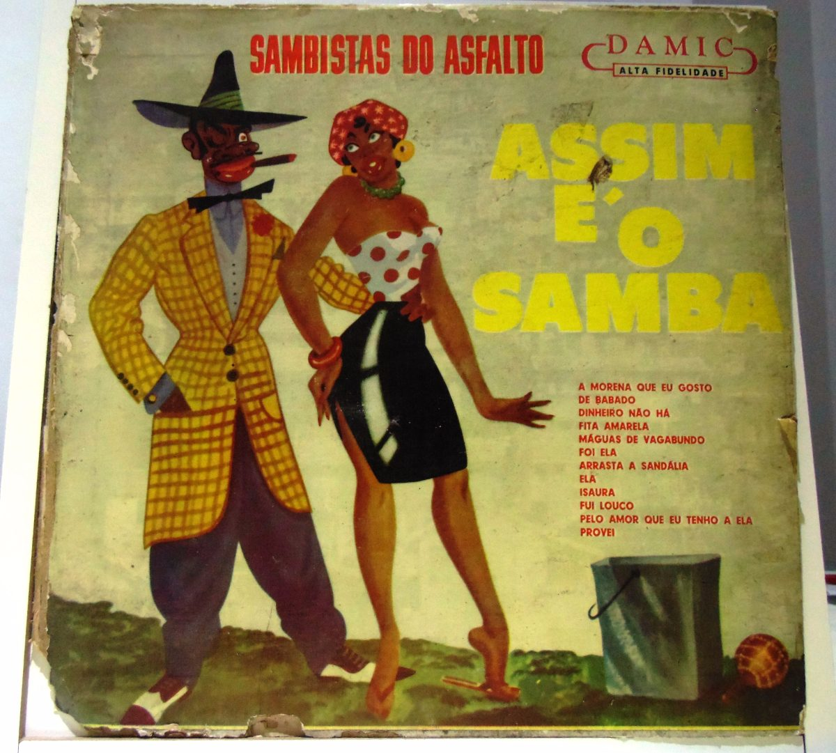 312f585e660d8 Lp Sambista Do Asfalto -assim É O Samba - R  30,00 em Mercado Livre