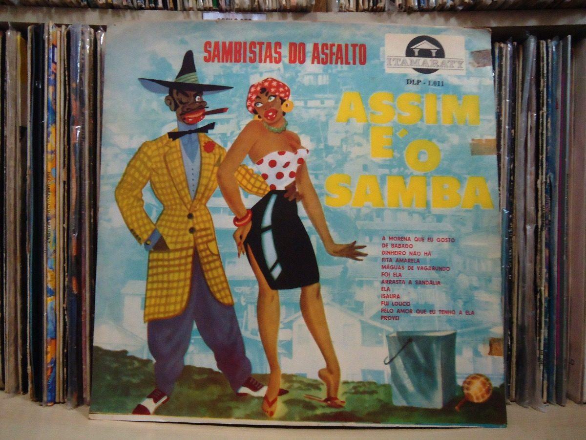 c3a95e550ef34 Lp Sambistas Do Asfalto-assim É O Samba   Prestige - R  25,00 em ...