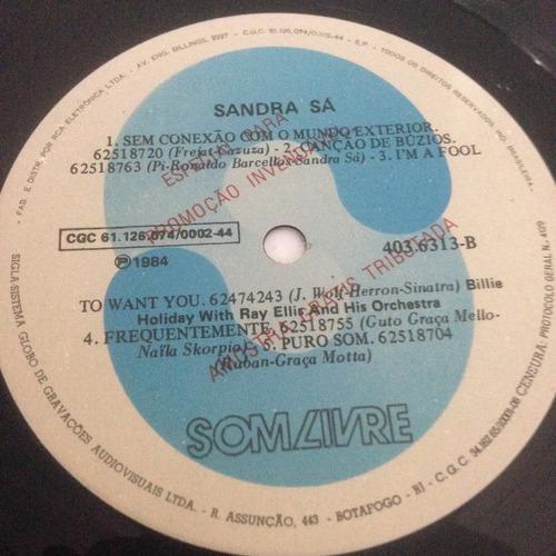 lp sandra sá 1984