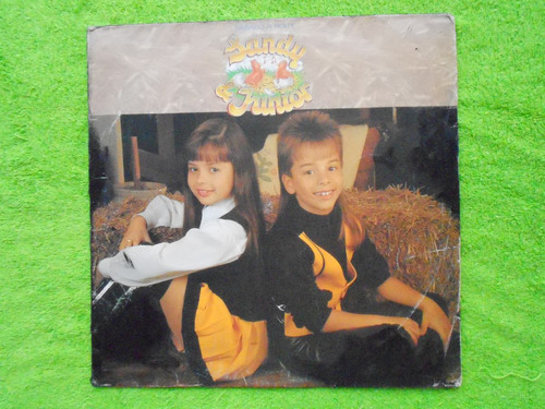 lp sandy & junior p/1992- sabado a noite disco 02 mg