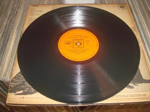 lp santana 1971 ( batuka ) vinil excelente