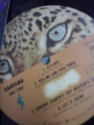 lp - santana - amigos - capa dupla - importado