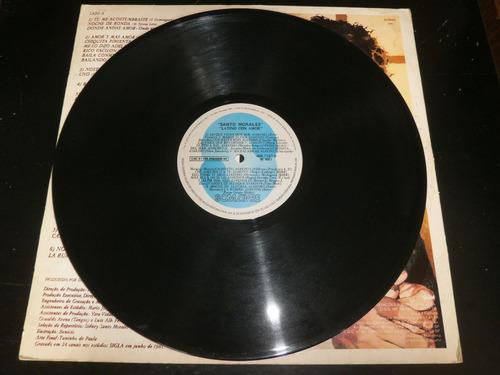 lp santo morales - latino con amor, disco vinil, ano 1981