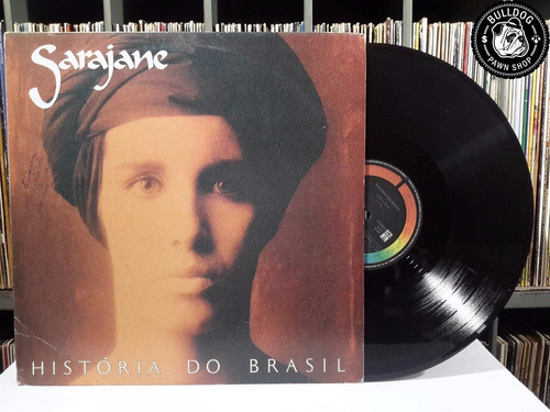 lp sarajane historia do brasil c encarte - veja o video - cc