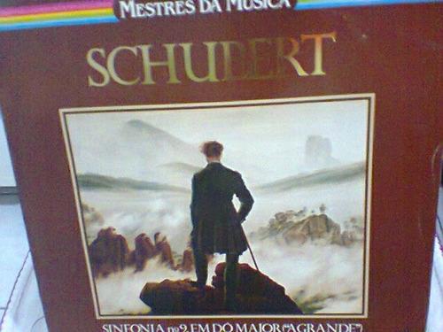 lp schubert  /  sinfonia nº9, em dó maior    (frete grátis)