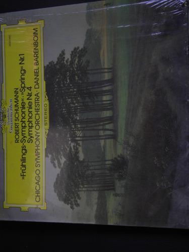 lp schumann frulings & simph 4 chicago symphony imp