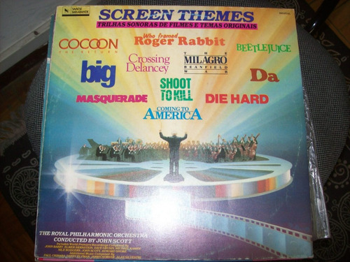 lp - screen themes - john scott - nacional - soundtrack