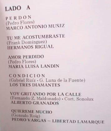 lp selecciones circulo de boleros album x3 lp´s vinilo-1986