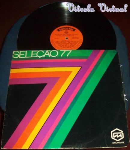 lp seleção 77 rge 1977 nacional