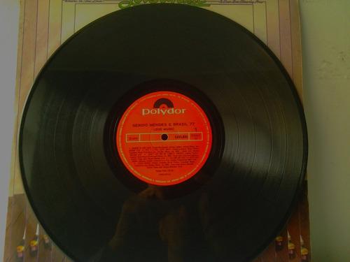 lp sergio mendes and brasil 77 - love music envio 13,00