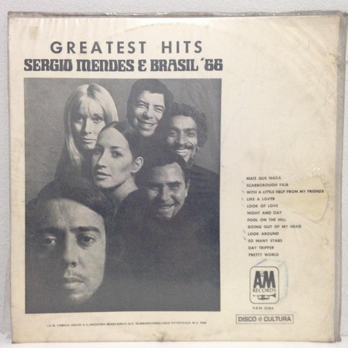 lp sergio mendes (greatest hits) hbs