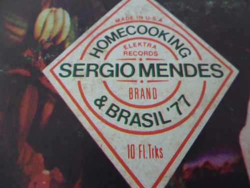 lp / sergio mendes / homecooking sergio mendes & brasil 77 /