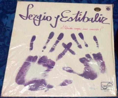 lp sergio y estibaliz quien compra una canción? 1976 vinilo