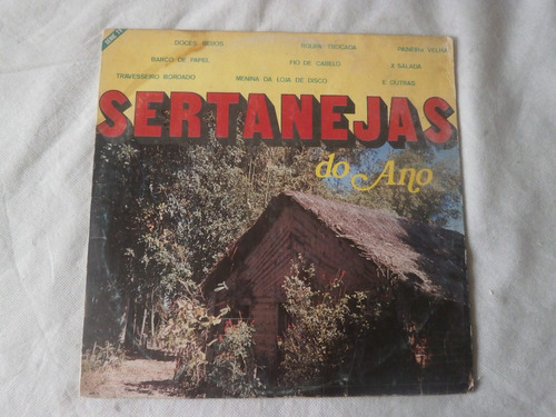 lp sertanejas do ano série tv, disco de vinil coletãnea
