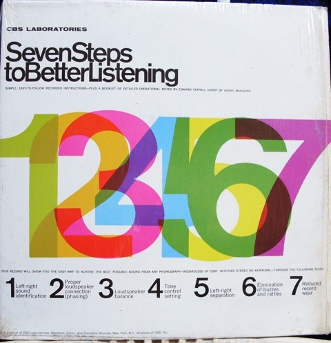 lp seven steps to better listening - 1964 - cbs - importado