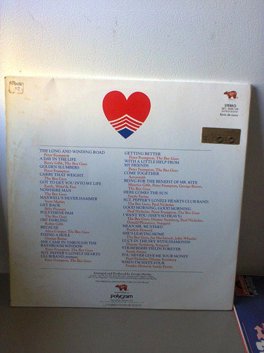 lp sgt.pepper's lonely hearts club band filme (bee gees) etc