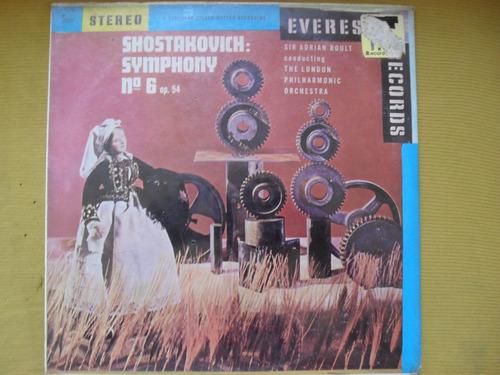 lp-shostakovich symphony numero 6 lacrado importado
