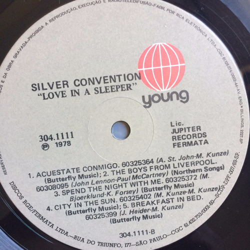 lp silver convention ( love in a sleeper ) ,