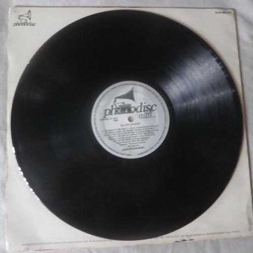lp silvio caldas 1983 beco sem saída, disco de vinil