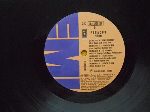 lp simone p/1979- pedaços