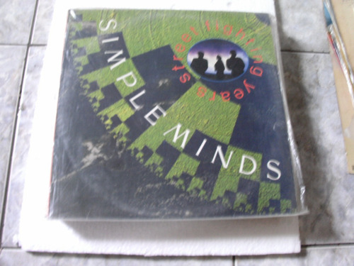 lp simpleminds - street fighting years - 1989