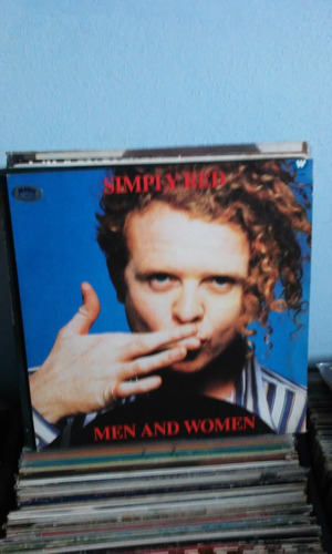 lp simply red men and women