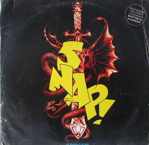 lp snap - rhythm is a dancer - the madma's return - 1992 - a