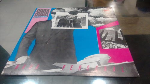 lp soda stereo nada personal en acetato,long play
