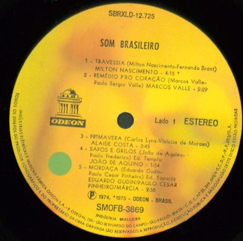lp som brasileiro - odeon 1975