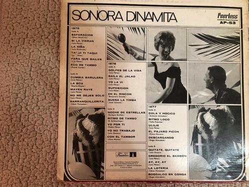 lp sonora dinamita album 3 discos